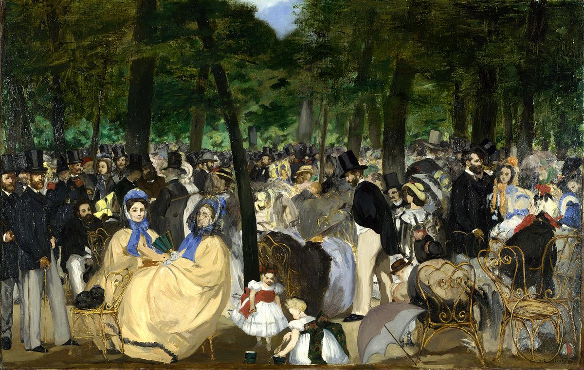 Paris During The Second Empire - Wikipedia à Salon De Jardin D Occasion