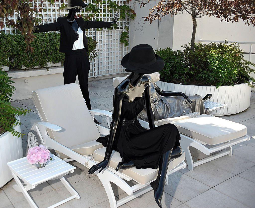 Paris Ve Fransa'da En Sarayı Oteller dedans Salon De Jardin Nevada