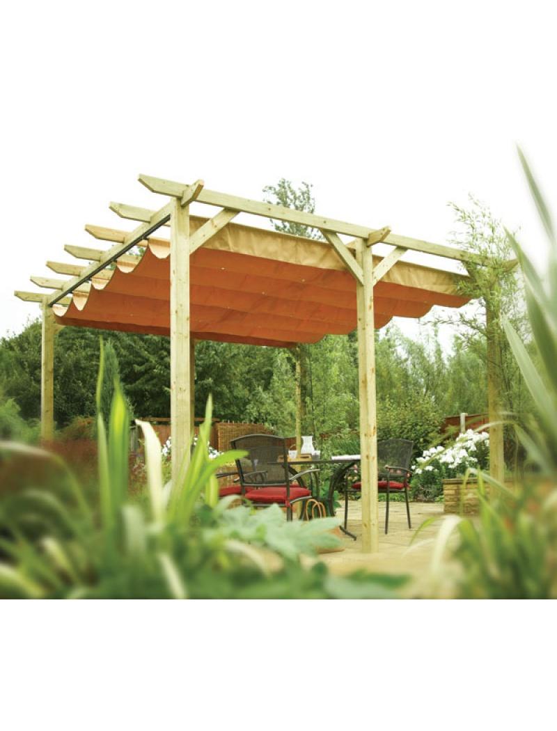 Pergola Autoportée Verona En Bois tout Tonnelle De Jardin En Bois