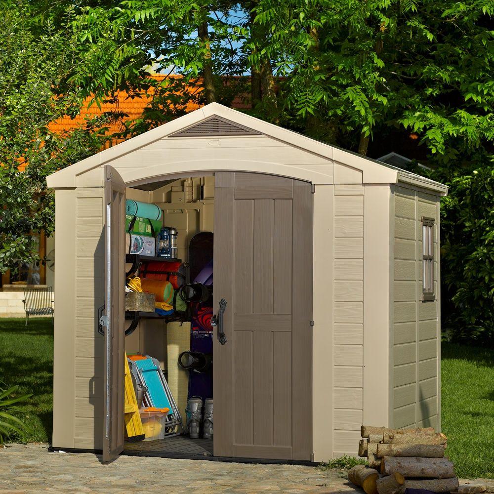 Petit Abri De Jardin Résine Keter 4,67 M² Ep. 16 Mm Sydney 86 dedans Abris De Jardin Resine