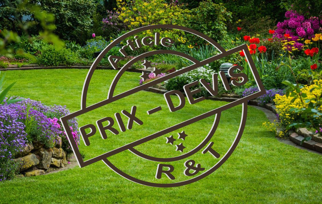 Prix Pour L'entretien D'un Jardin Et Exemple De Devis à Exemple D Aménagement De Jardin