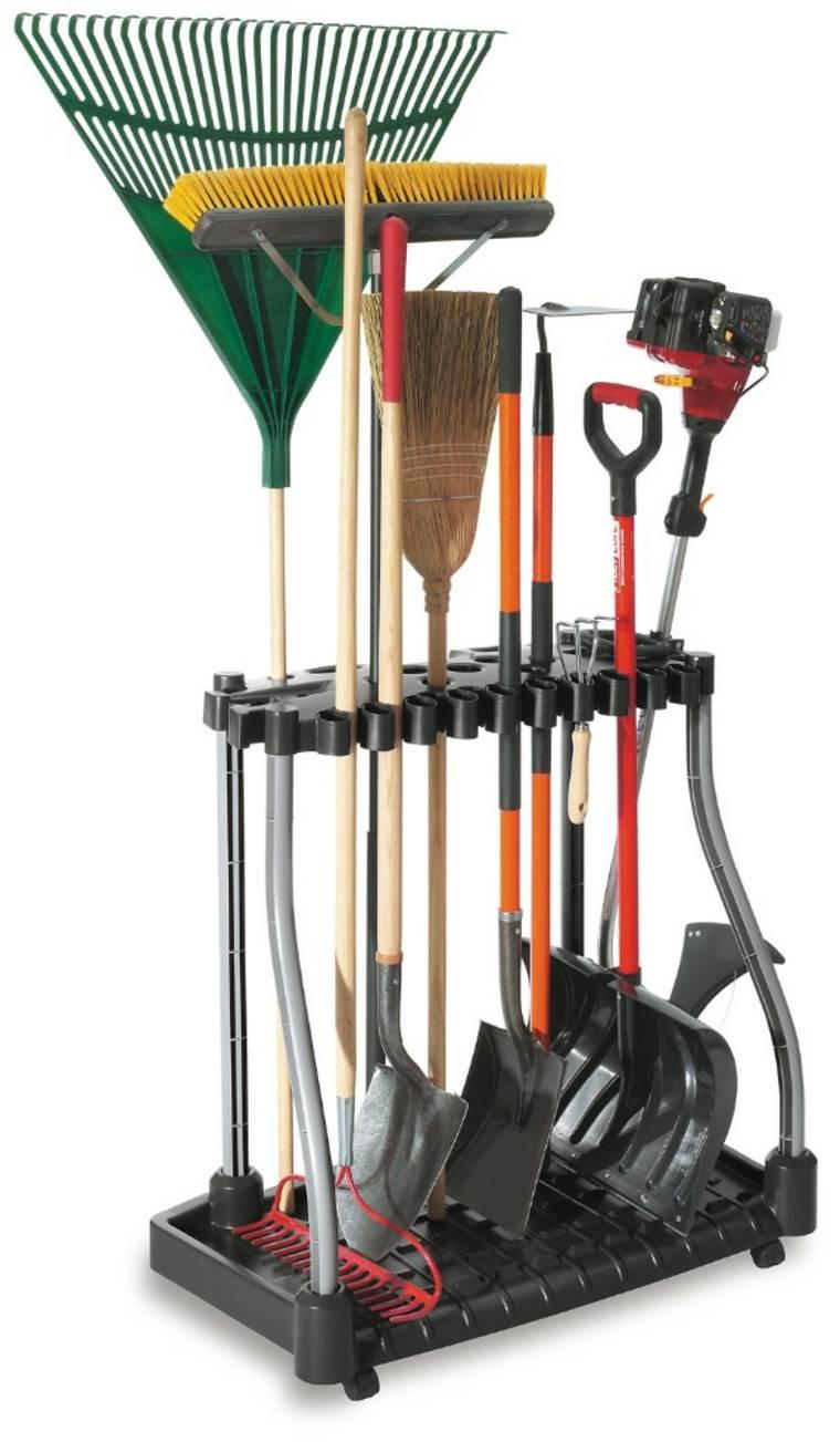 Range Outils De Jardin Et Organisation Du Garage pour Range Outils De Jardin