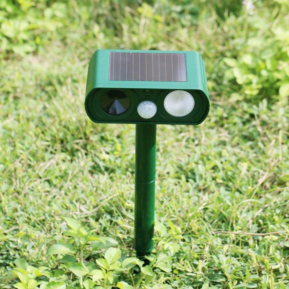 Répulsif Chat Ultrason Solaire : Repousser Les Félins De ... pour Repousse Chat Jardin