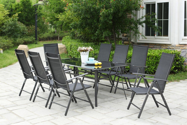 Rimini 8 avec Table Et Chaises De Jardin Pas Cher