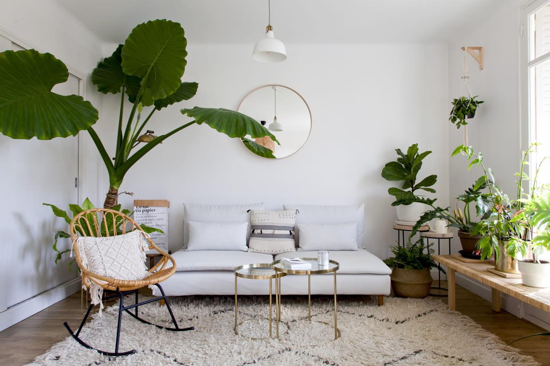 Salon Blanc : Les Plus Beaux Exemples Pour Un Intérieur Lumineux avec Salon De Jardin Lumineux