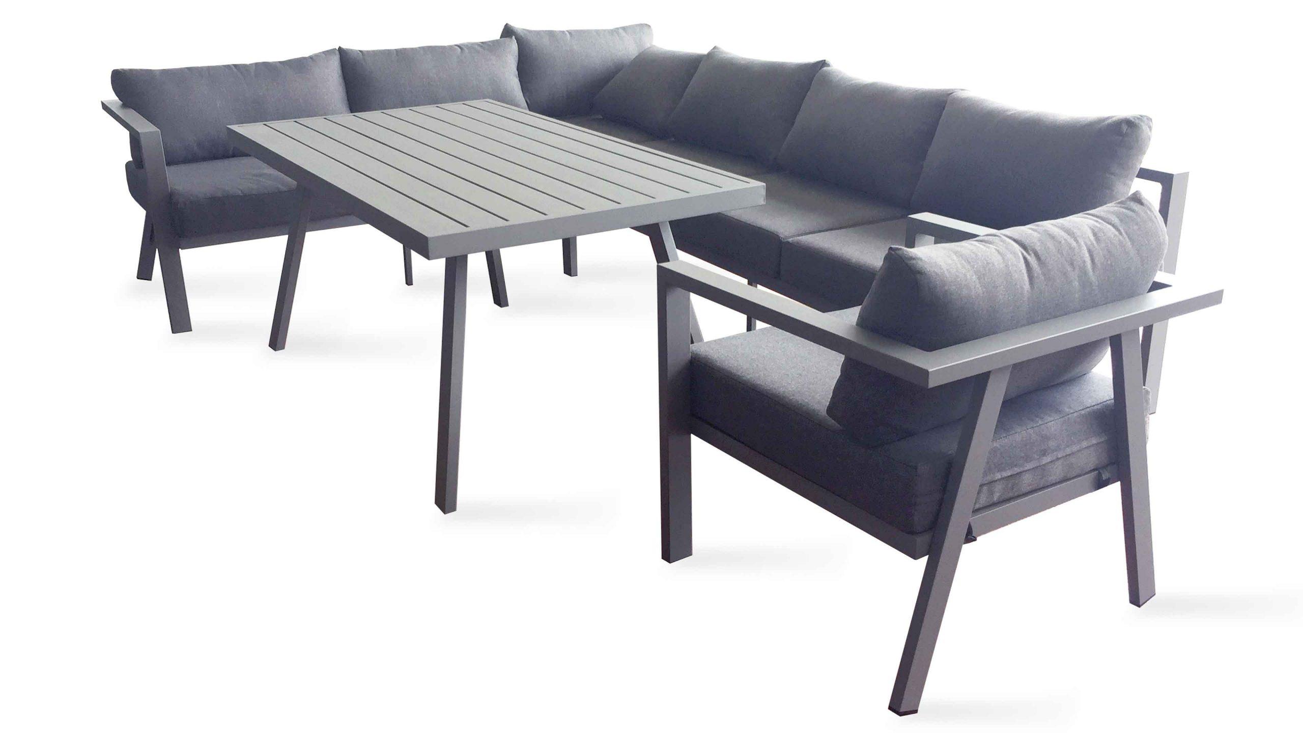 Salon De Jardin Angle Aluminium - The Best Undercut Ponytail dedans Canapé D Angle De Jardin