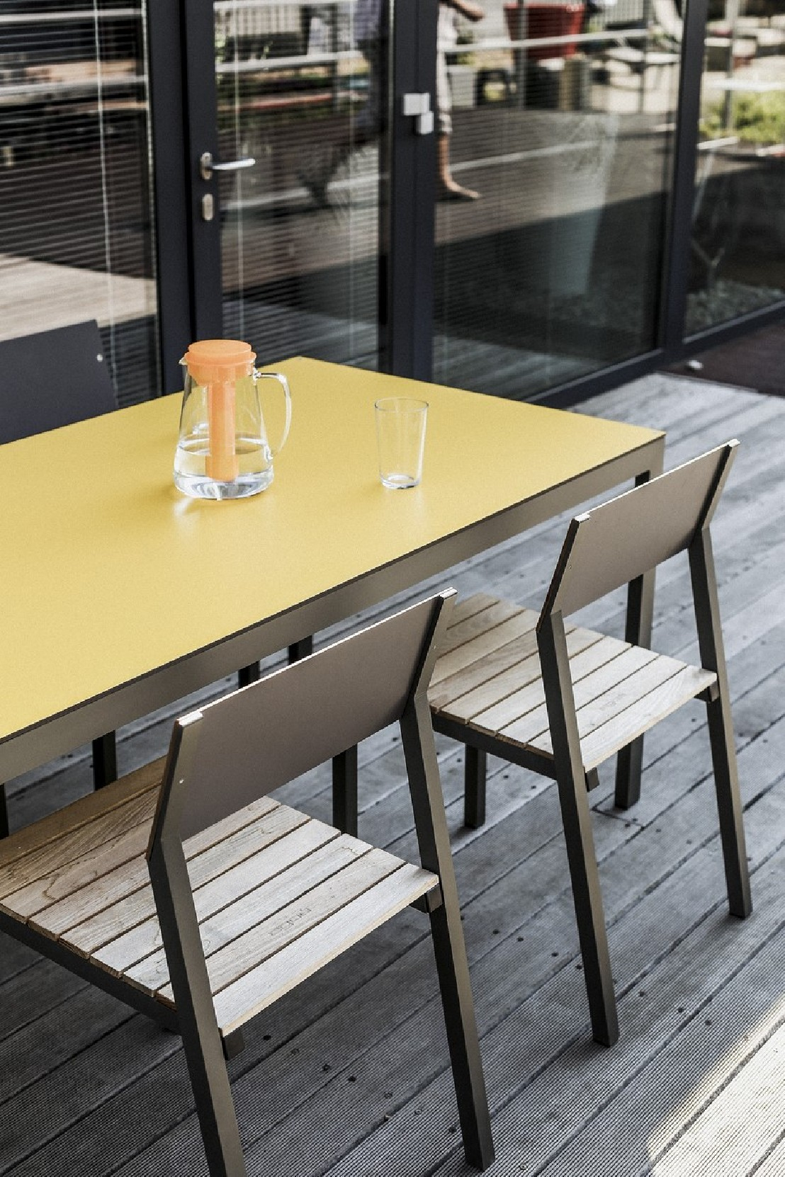 Salon De Jardin Cora, Table Rectangle 175 Cm Et 4 Chaises ... destiné Salon De Jardin Cora