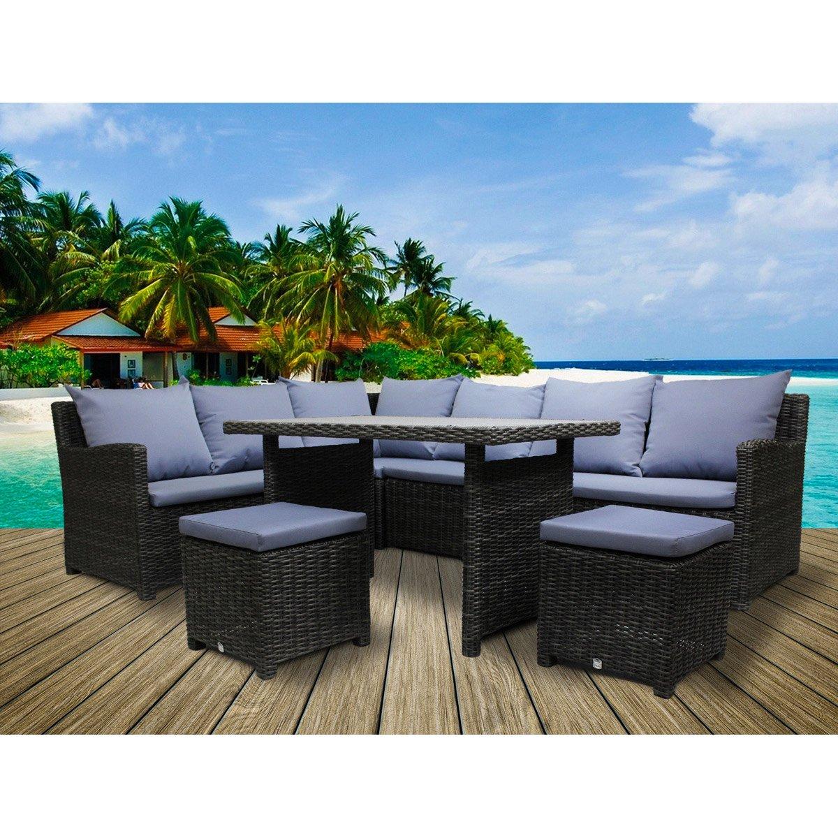 Salon De Jardin Dangle Avec Table Haute - The Best Undercut ... intérieur Salon De Jardin Table Haute