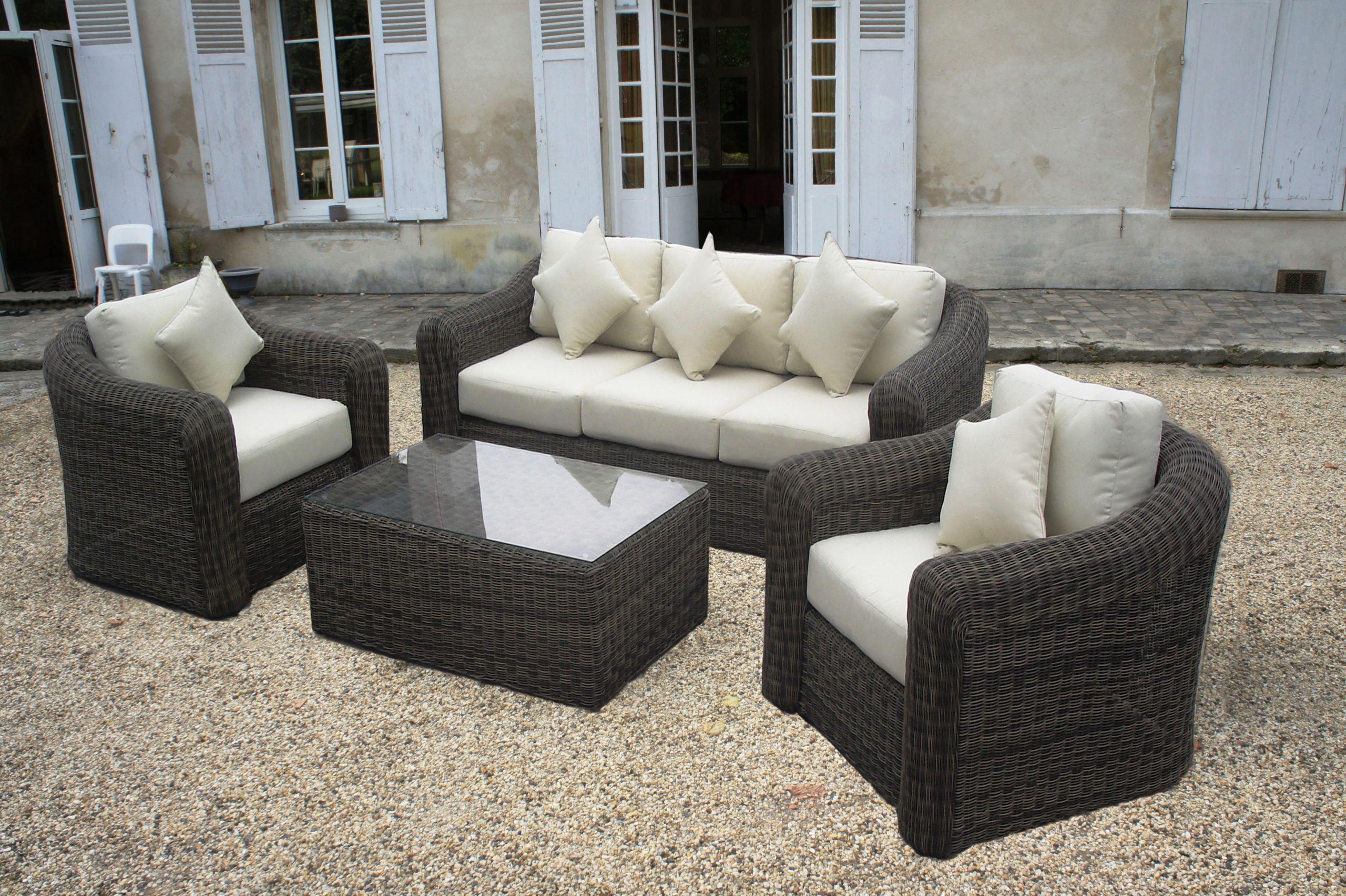 Salon De Jardin Design En Solde Concept - Idees Conception ... pour Salon De Jardin En Soldes