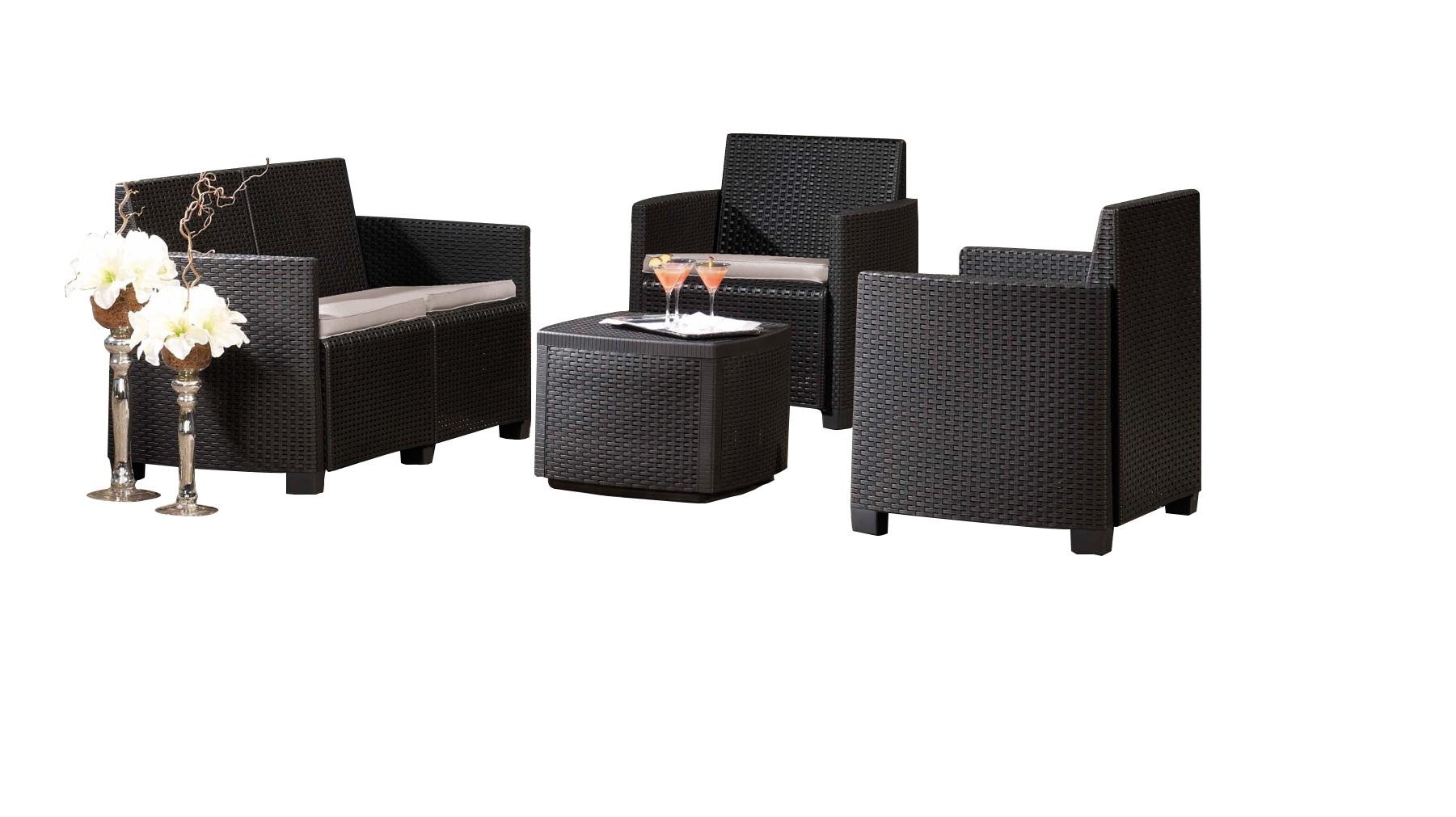 Salon De Jardin Etna Lounge - Mr.bricolage serapportantà Salon De Jardin Mr Bricolage