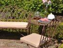 Salon De Jardin Fer Forgã© Concept - Idees Conception Jardin tout Salon De Jardin En Fer Forgé