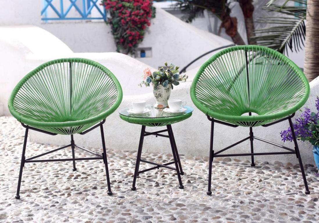 Salon De Jardin Pas Cher : Notre Sélection De Meubles Canons ... dedans Ensemble Table Et Chaise De Jardin Pas Cher
