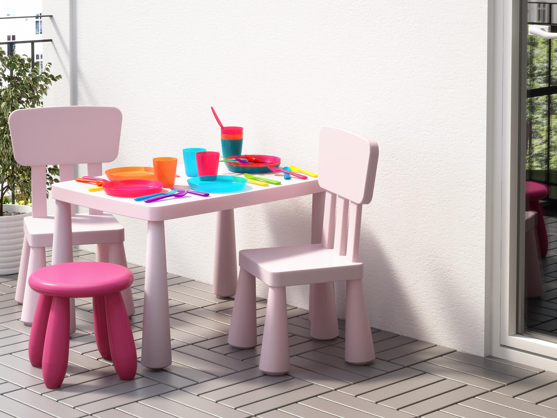Salon De Jardin Pour Enfants : Du Mobilier Comme Les Grands ... serapportantà Ikea Mobilier De Jardin