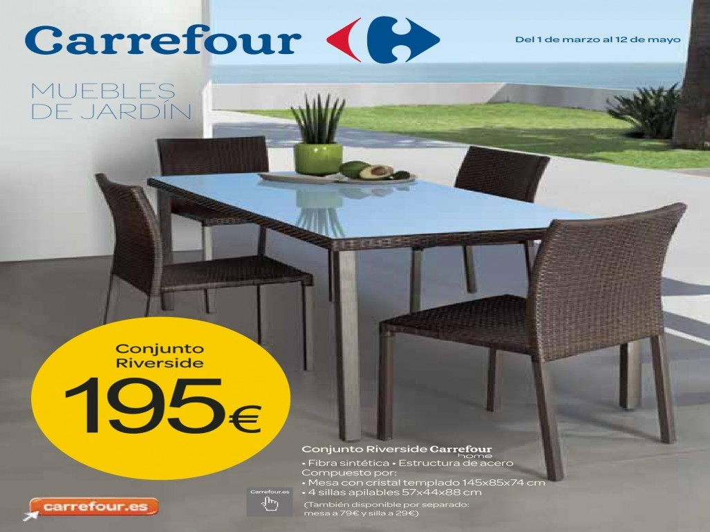 Salon Jardin Carrefour Des Idées - Idees Conception Jardin à Salon Jardin Resine Carrefour