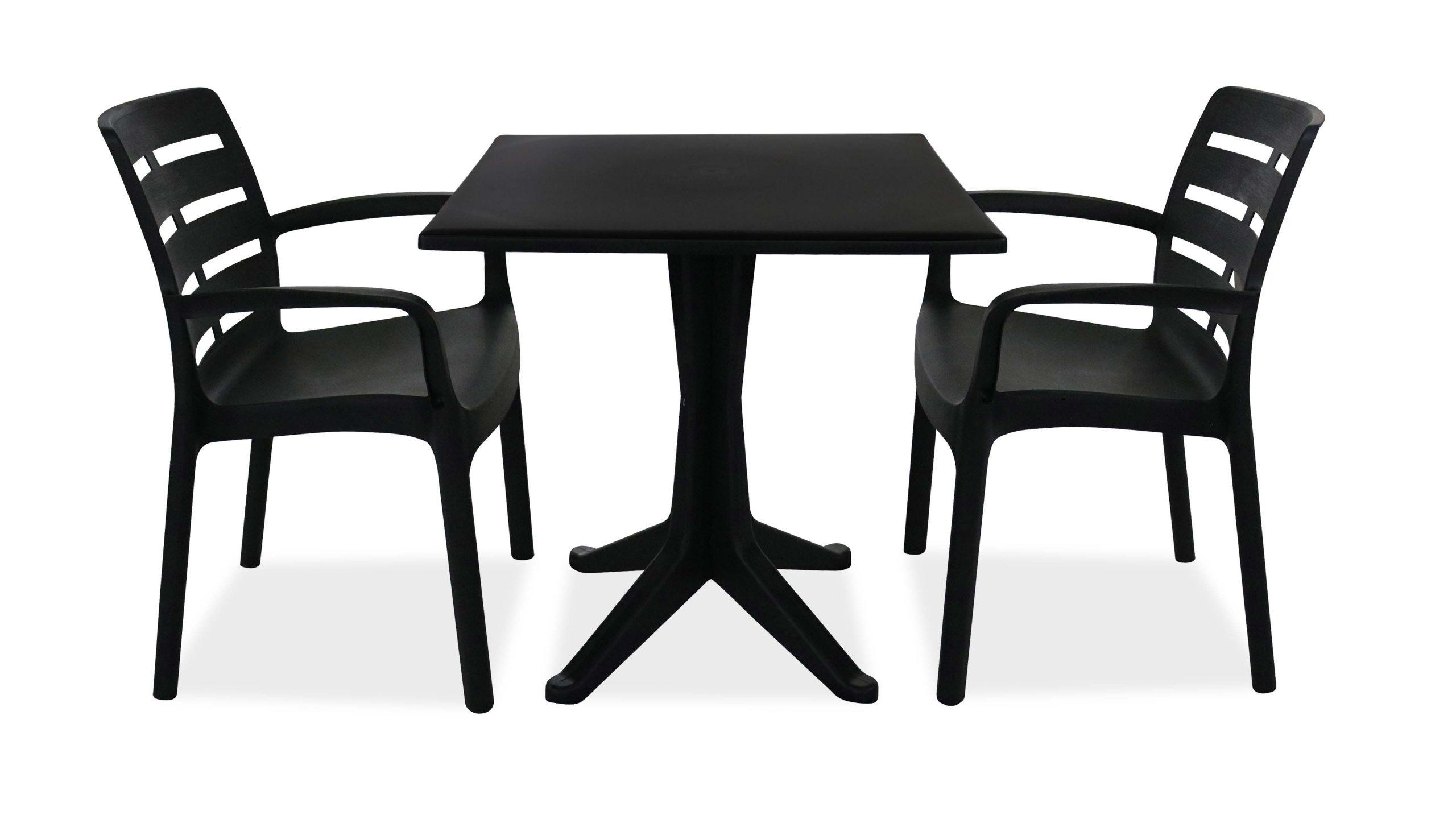 Salon Jardin Plastique Table Et Chaises intérieur Salon De Jardin Plastique Pas Cher