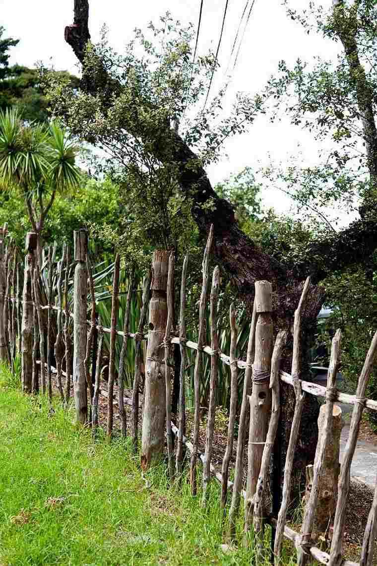 Séparation Jardin : Idées De Clôtures, Haies Et Brise-Vue ... dedans Petite Barriere Jardin