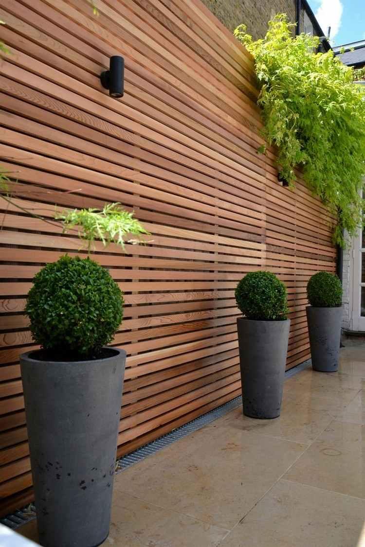 Séparation Jardin Mitoyen – 21 Idées En Images Très En Vogue dedans Separation De Jardin