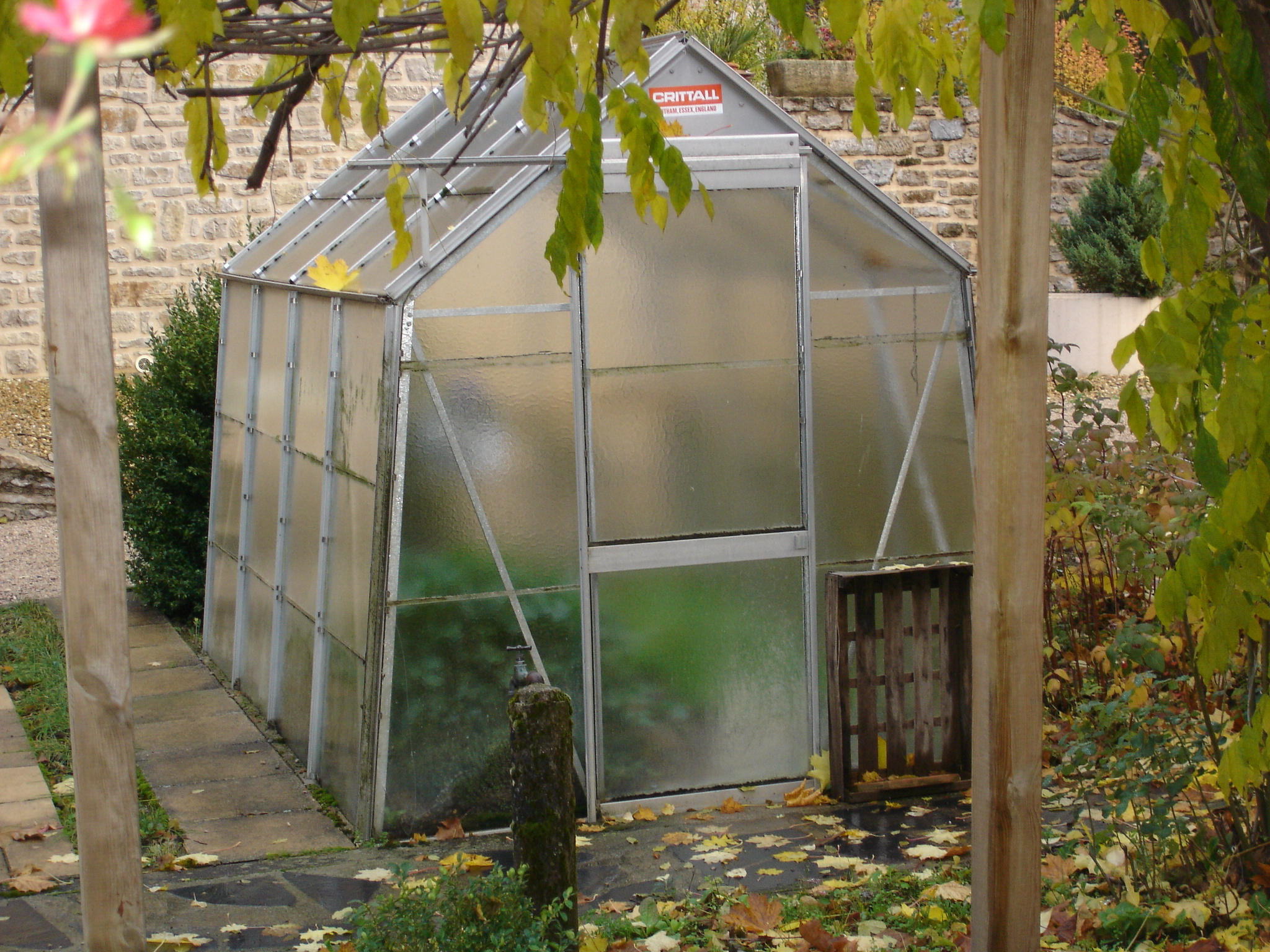 Serre De Jardin Adossee Sur Mesure Dbg Classics | Serre De ... à Serre De Jardin D Occasion