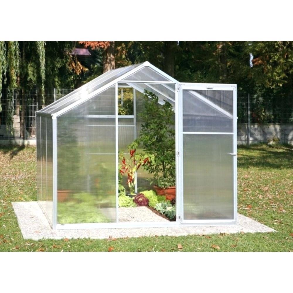 Serre De Jardin Polycarbonate 12M2 - Veranda Et Abri Jardin destiné Serre De Jardin Leroy Merlin