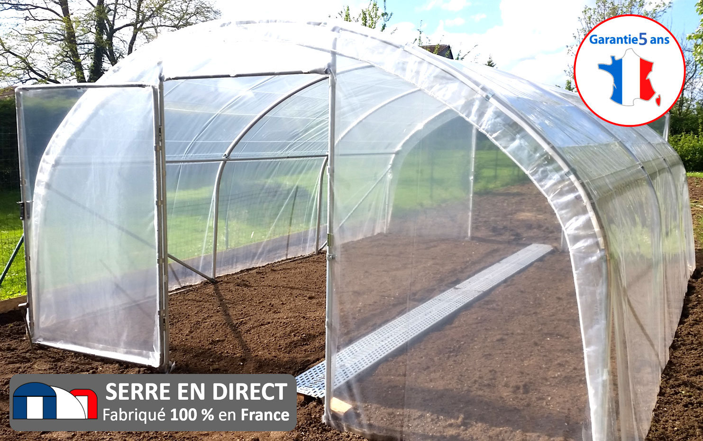 Serre En Direct - Fabricant De Serres De Jardin Et D'abris ... serapportantà Serre De Jardin D Occasion