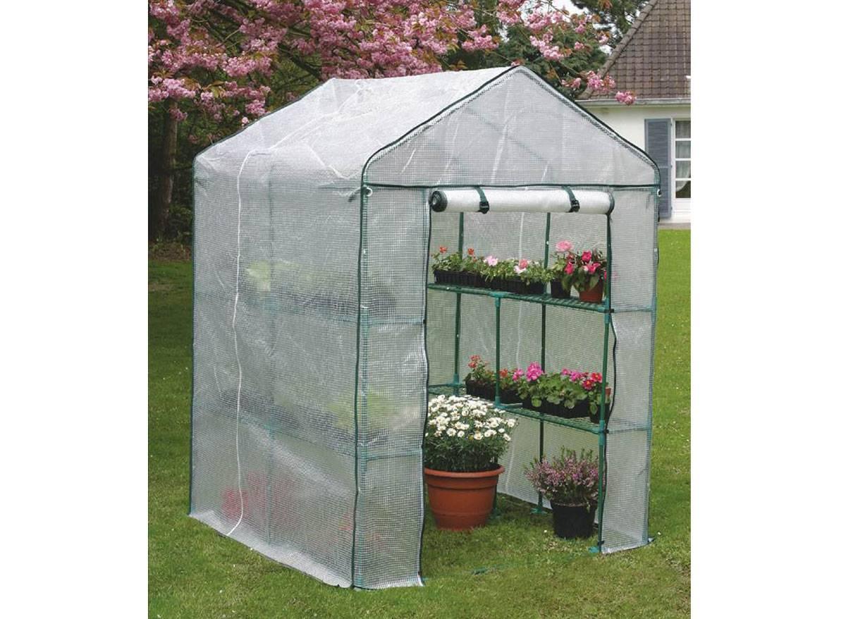 Serre Plastique Greenseason intérieur Serre De Jardin Pas Chere