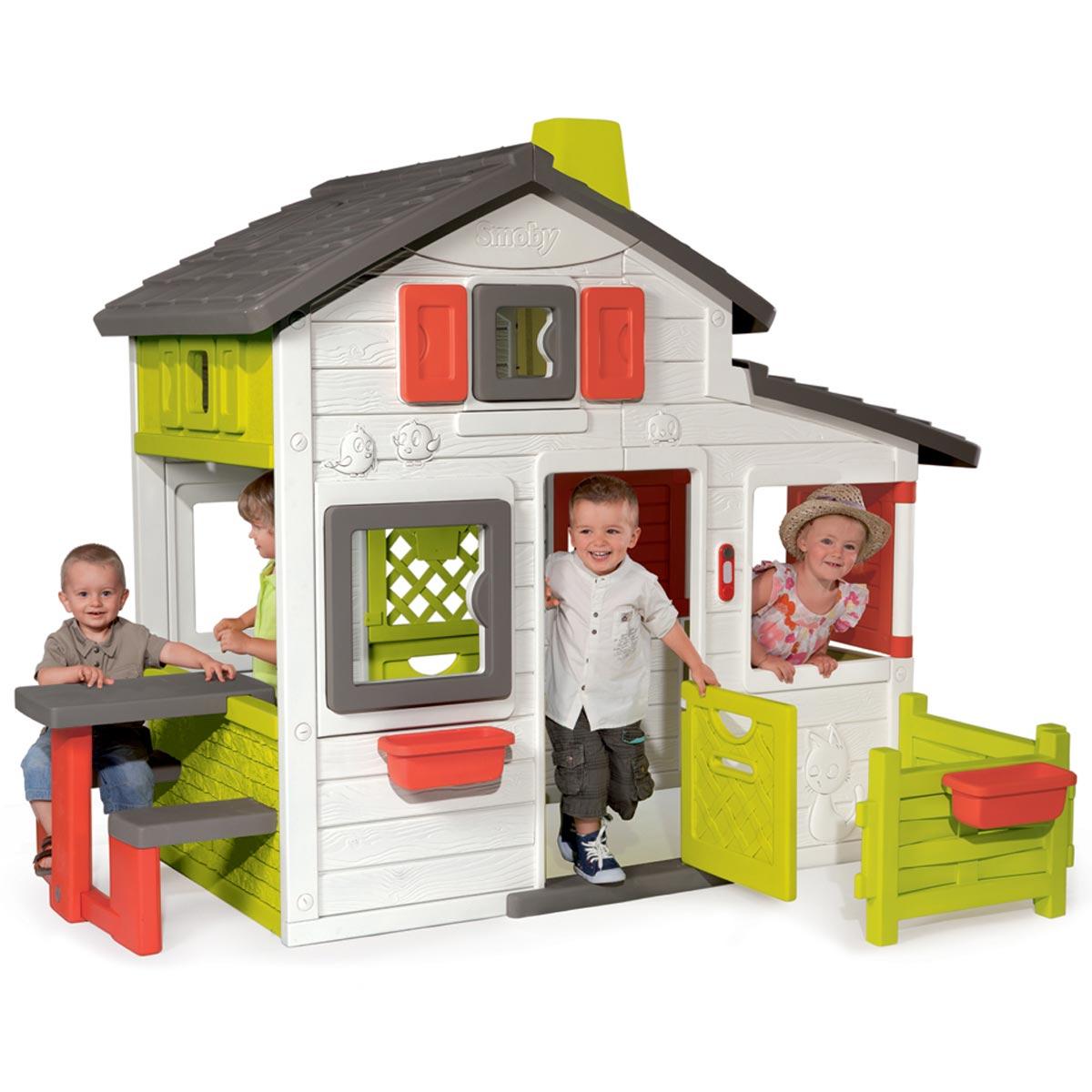Smoby Maison De Jardin Friends House intérieur Maison De Jardin Pour Enfants