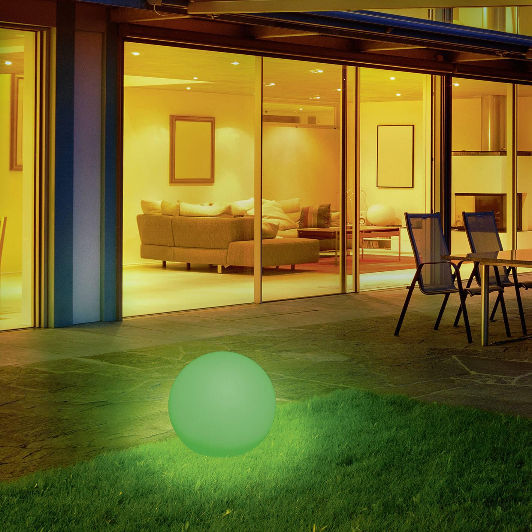 Solaire Boule Lumineuse 40 Cm Lampe Solaire Jardin Éclairage ... tout Boule Lumineuse Jardin