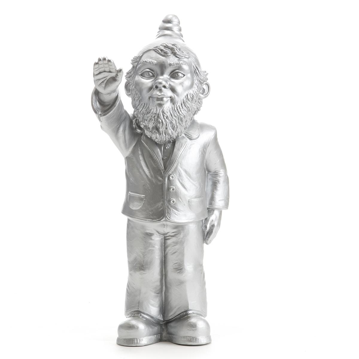 Statuette, Le Nain Empoisonne, De Ottmar Hörl Silver encequiconcerne Nain De Jardin Fuck