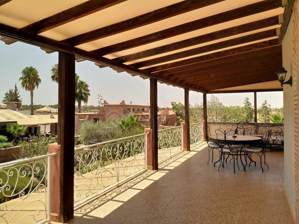 Superbe Appartement Dans Résidence Sécurisée (Fas Marakeş ... dedans Paillote Jardin