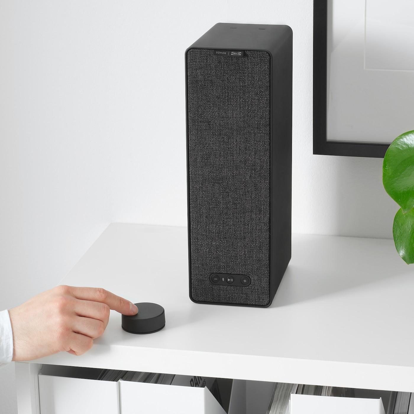 Symfonisk Télécommande Volume - Noir serapportantà Ikea Mobilier De Jardin