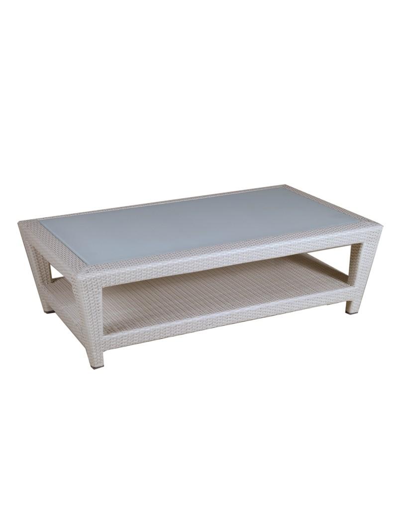 Table Basse Duna 130X80 - Collection Duna - Les Jardins ... intérieur Vente Privée Jardin