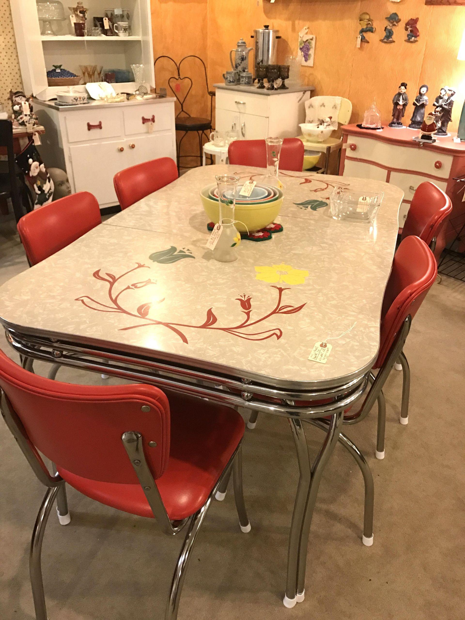Table Bistrot Pas Cher Charmant Vintage Formica Table D ... à Salon De Jardin D Occasion