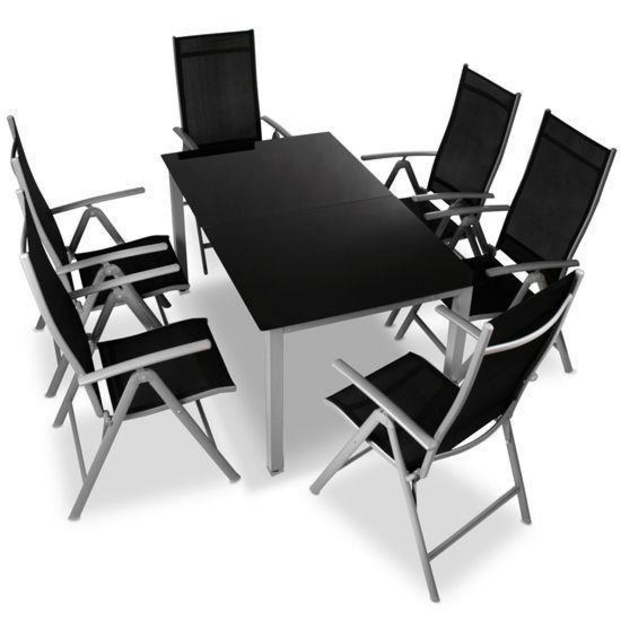 Table Chaises Jardin Aluminium serapportantà Table Et Chaises De Jardin Pas Cher