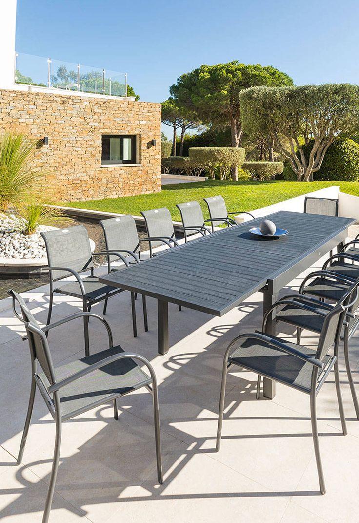 Table De Jardin Piazza | Salon De Jardin Truffaut, Table De ... concernant Salon De Jardin Truffaut