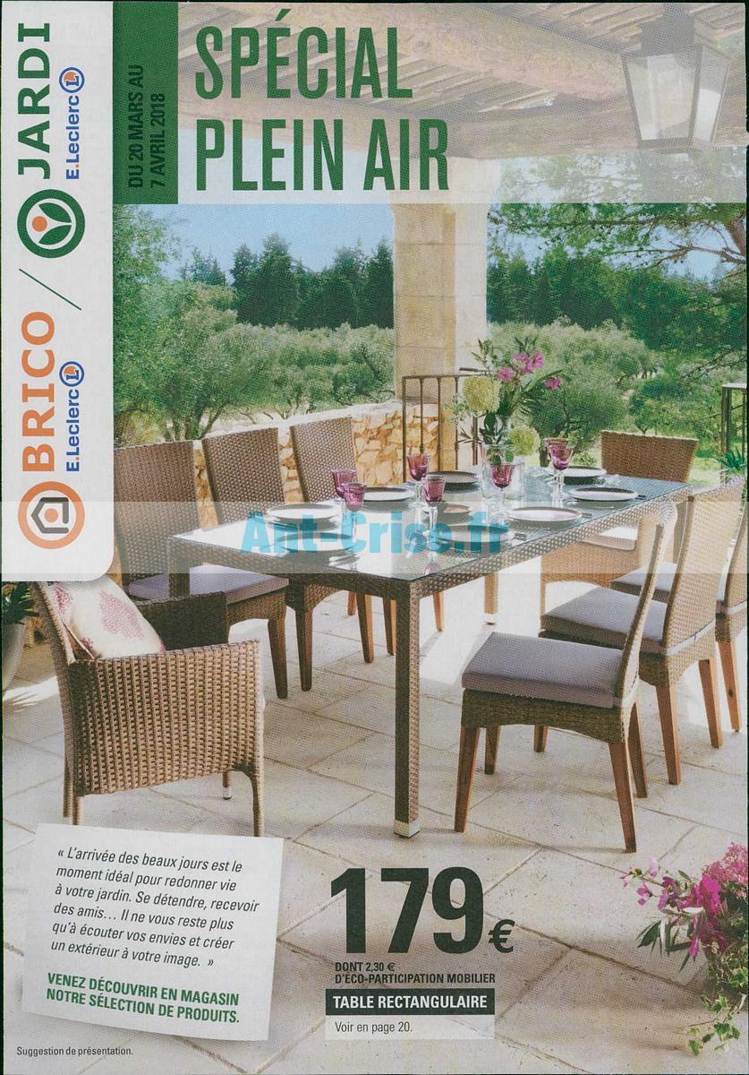 Table De Salon De Jardin Leclerc Élégant Catalogue Leclerc ... pour Leclerc Mobilier De Jardin