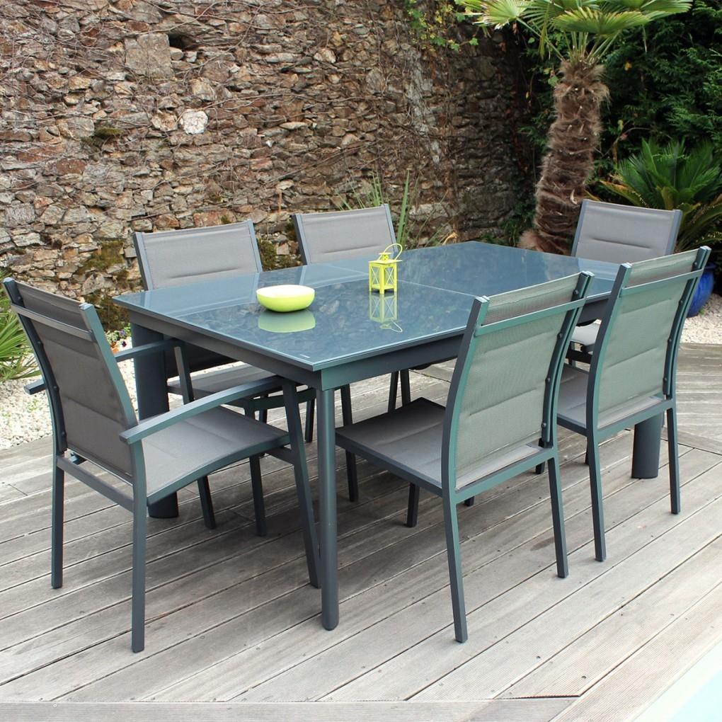 Table De Salon De Jardin Pas Cher Ensemble Table Et Chaise ... pour Salon De Jardin Pas Cher En Resine