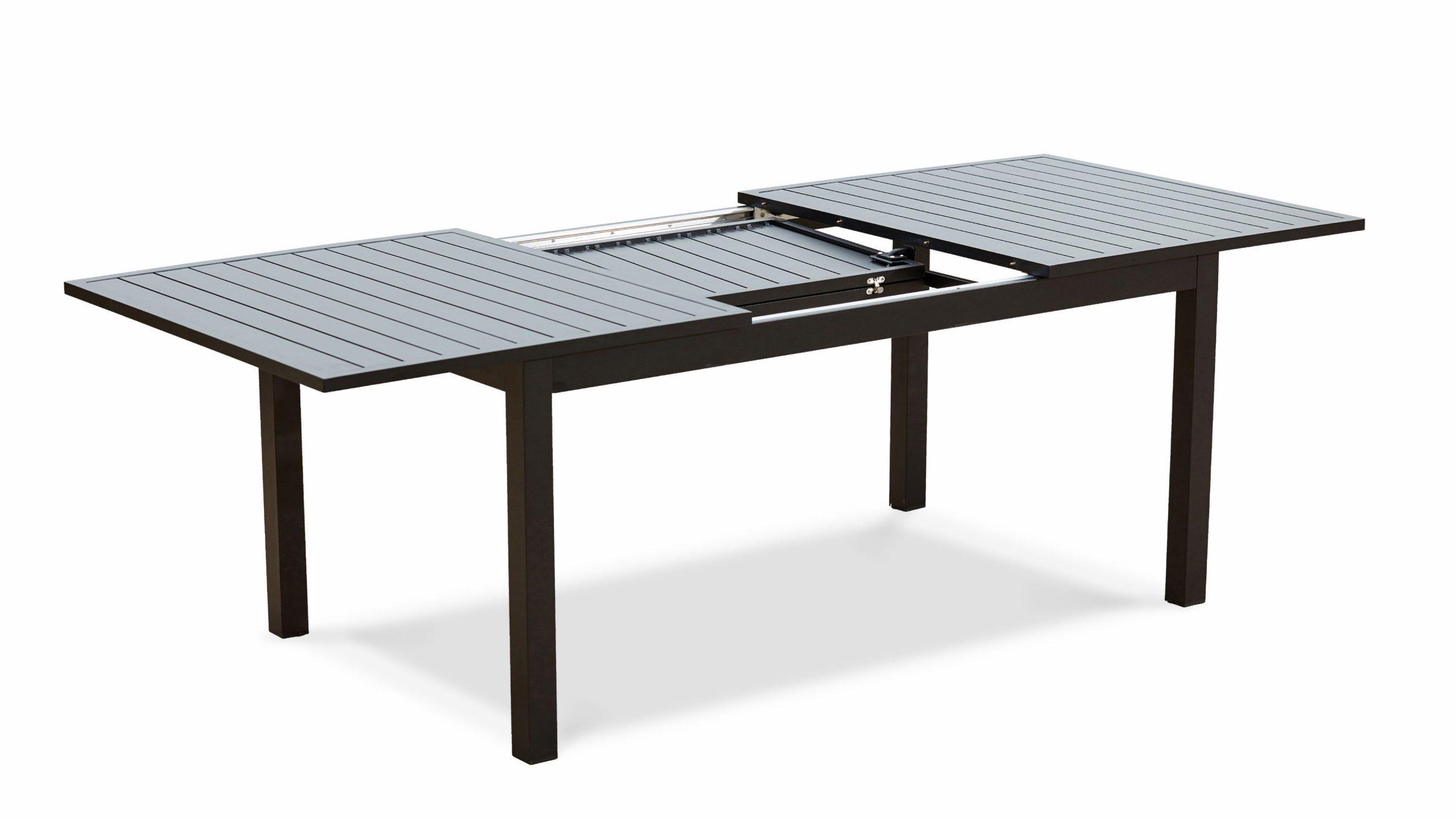 Table Jardin Extensible Rallonge 174/238 Cm Aluminium pour Table De Jardin Extensible Pas Cher