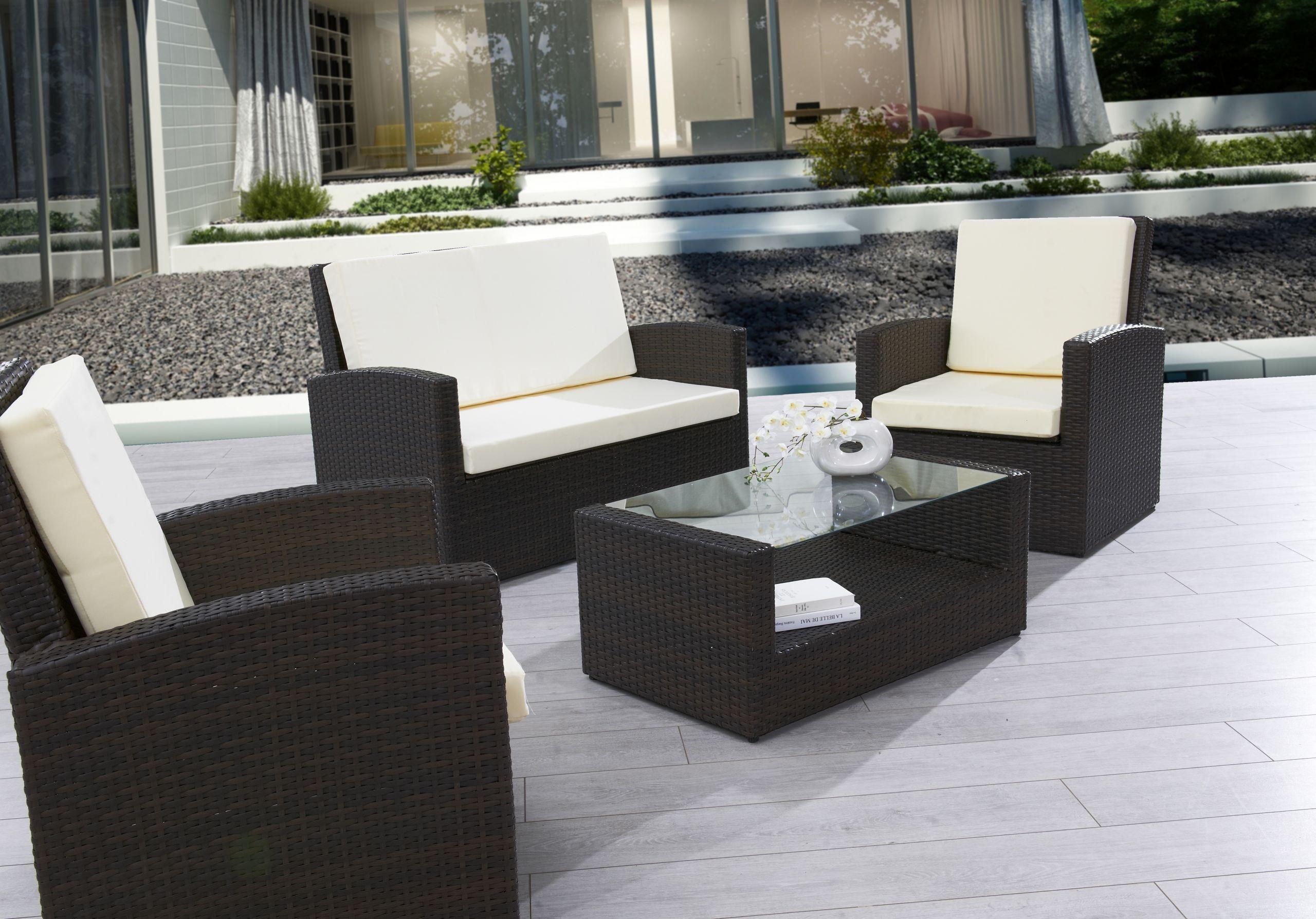 Table Jardin Resine Best Of Salon Exterieur Terrasse   Salon ... intérieur Salon De Jardin Leroy Merlin Resine