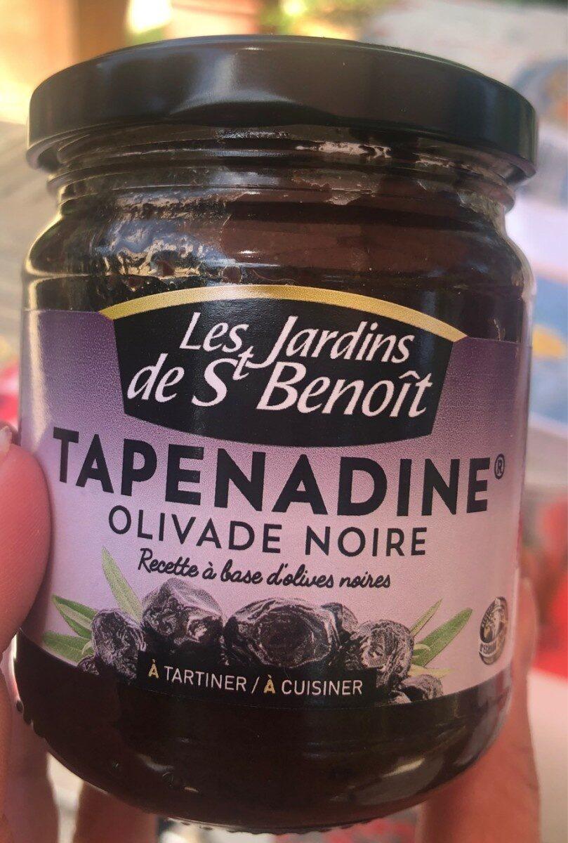 Tapenade Olives Noir - Les Jardins De St Benoît - 190G destiné Les Jardins De St Benoit