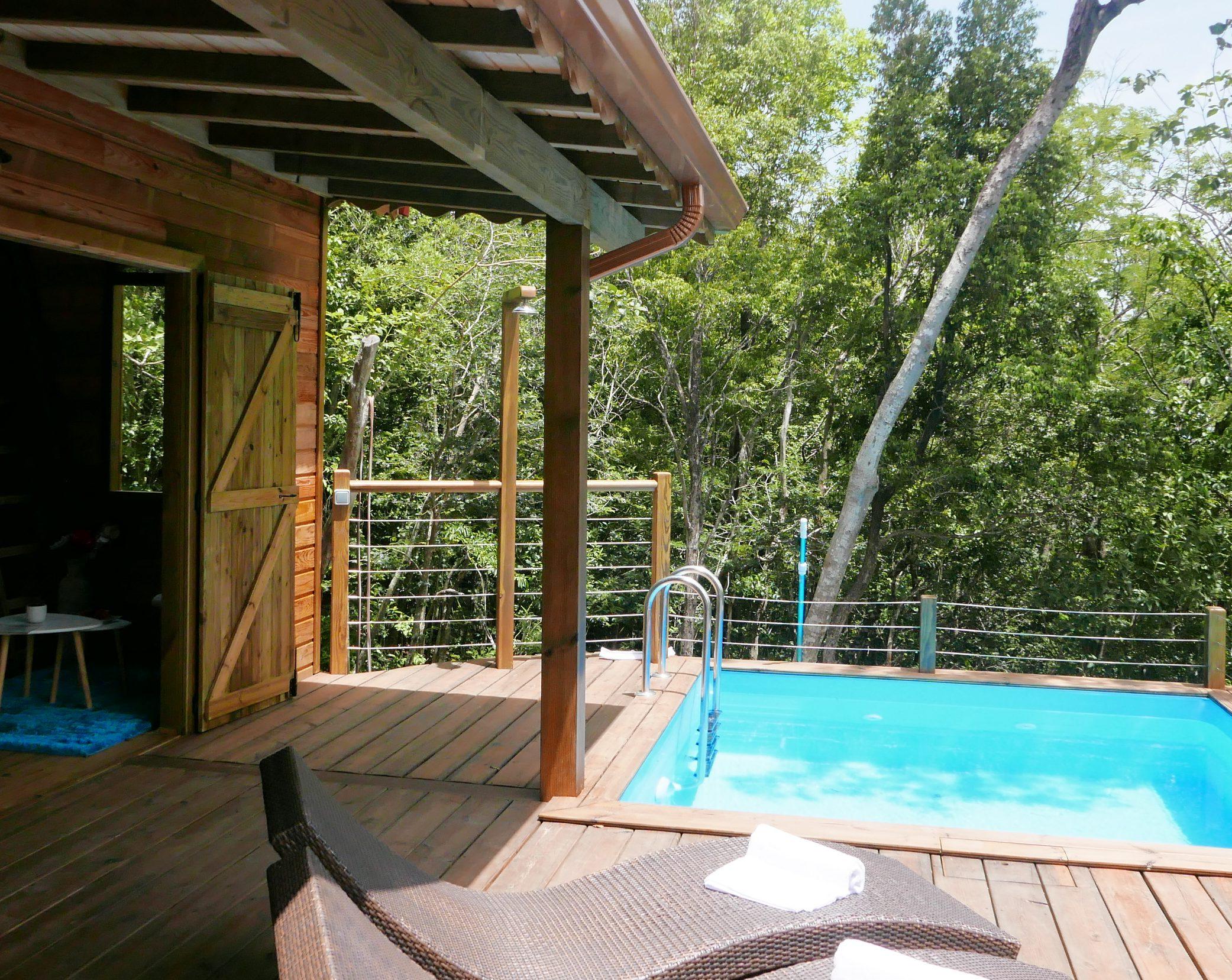 Tendance Eco-Lodge : L'exemple Du Jardin Des Colibris En ... à Au Jardin Des Colibris