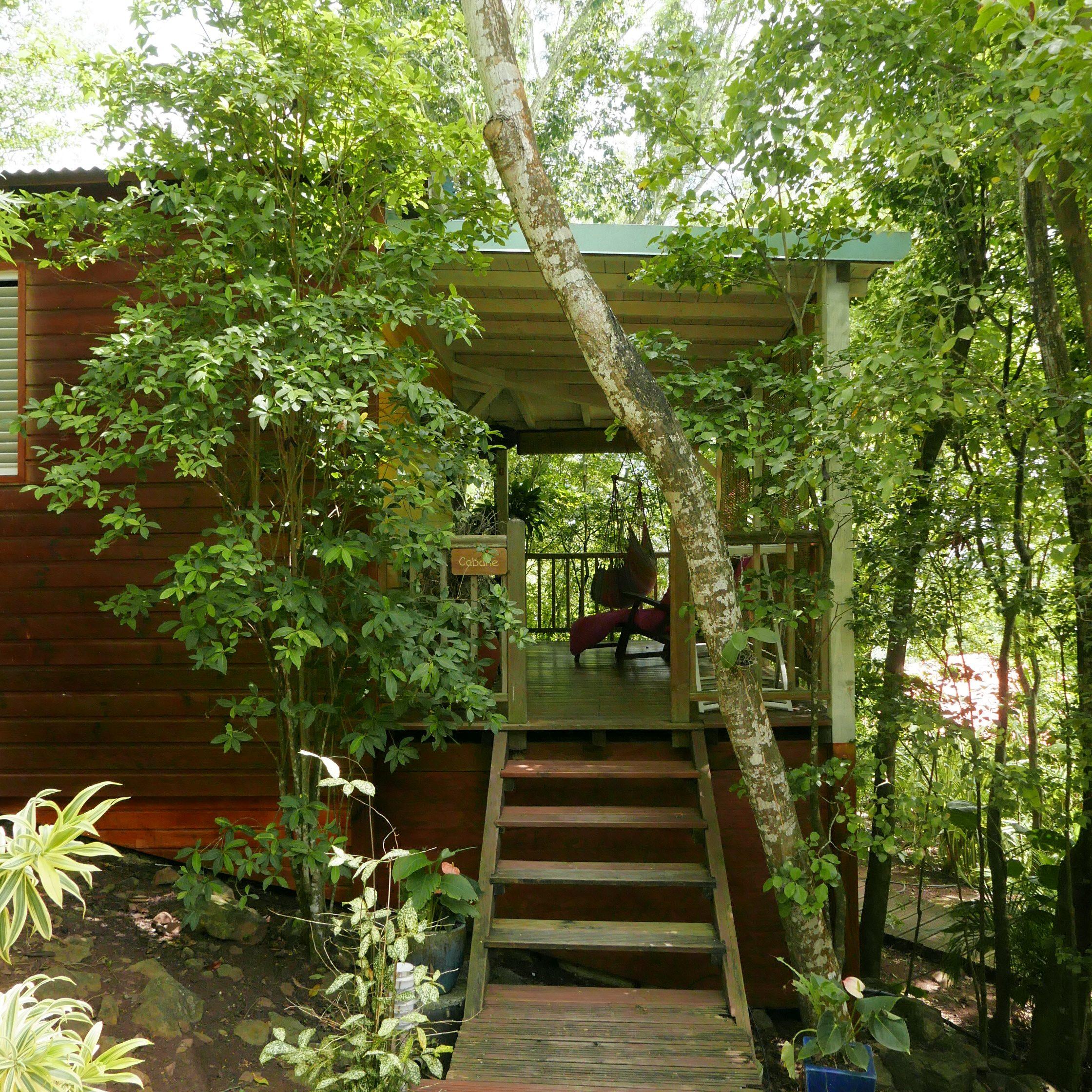 Tendance Eco-Lodge : L'exemple Du Jardin Des Colibris En ... concernant Au Jardin Des Colibris
