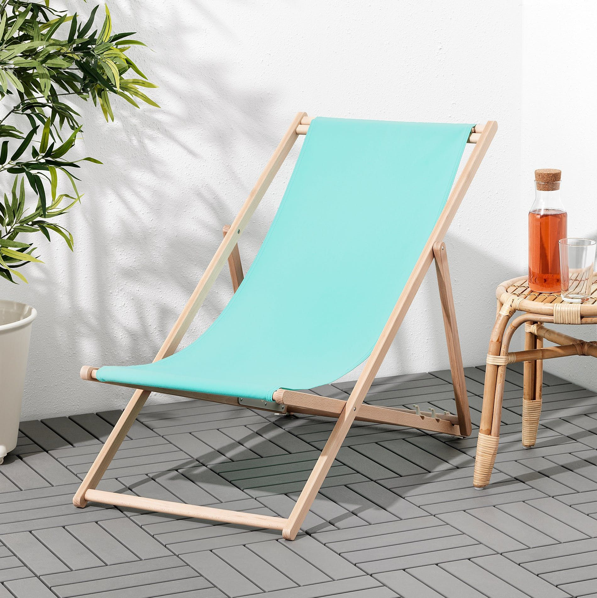 The Cutest Ikea Patio Items Under $100 You Need For Summer ... concernant Transat Jardin Ikea