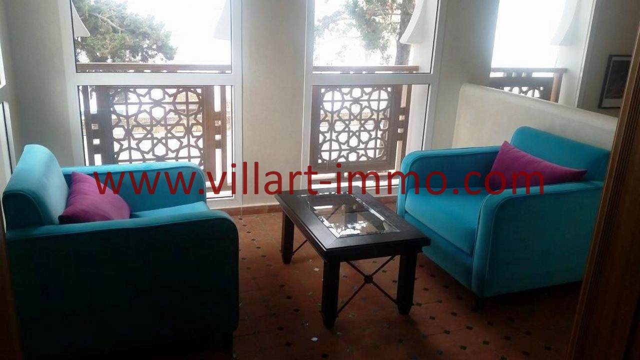 To Let In Tangier Furnished Villa Close To School And ... encequiconcerne Salon De Jardin California