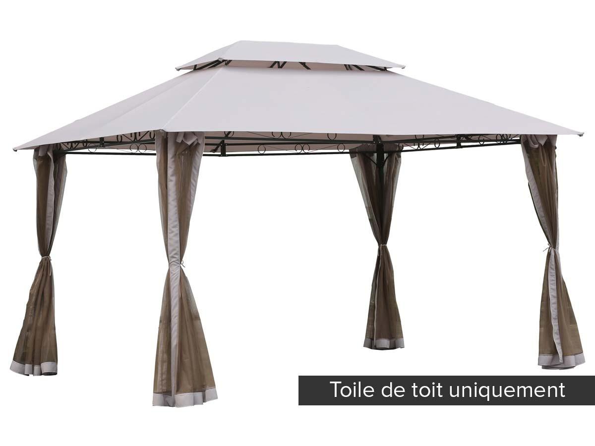 Toile De Toit Pour La Tonnelle Fogo - intérieur Tonelle De Jardin