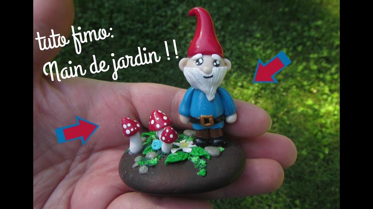 Tuto Fimo:nain De Jardin dedans Nain De Jardin Design