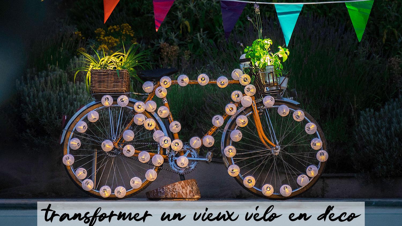 Tuto Upcycling : Fabriquer Un Vélo Déco Pour Son Jardin - Be ... encequiconcerne Velo Deco Jardin