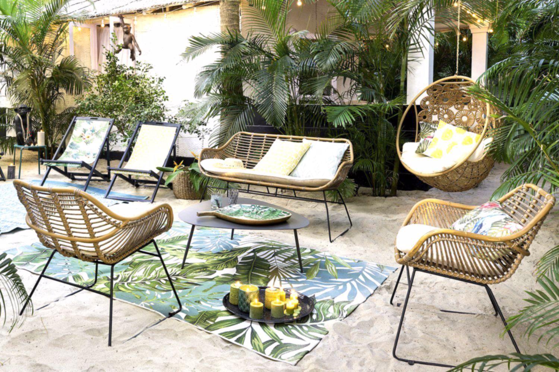 Un Salon De Jardin Pas Cher Vintage, Maisons Du Monde, #cher ... concernant Salon De Jardin Pas Chere