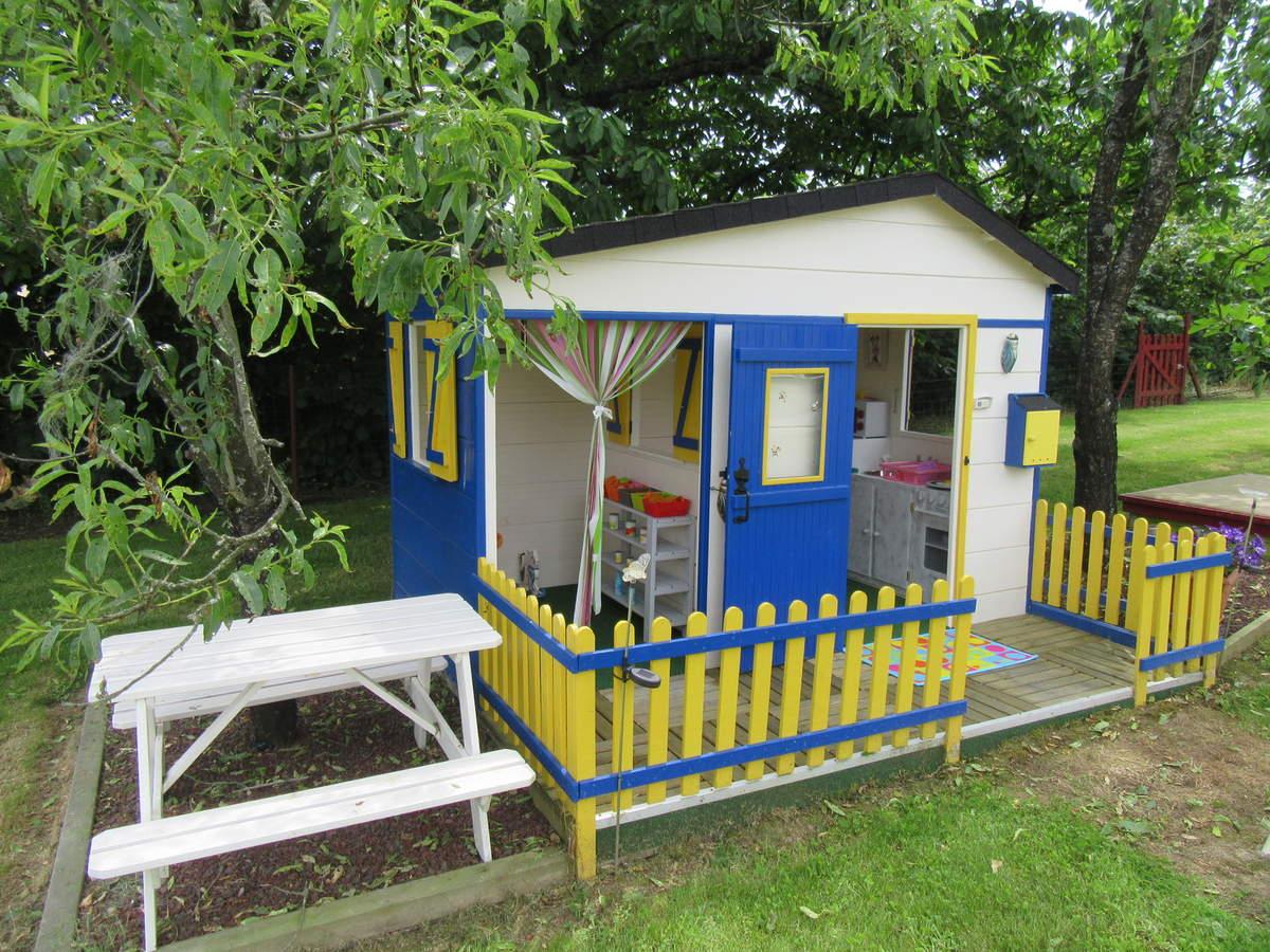 Une Maison Pour Les Enfants - Le Blog Du Bricolage pour Maison De Jardin Pour Enfant