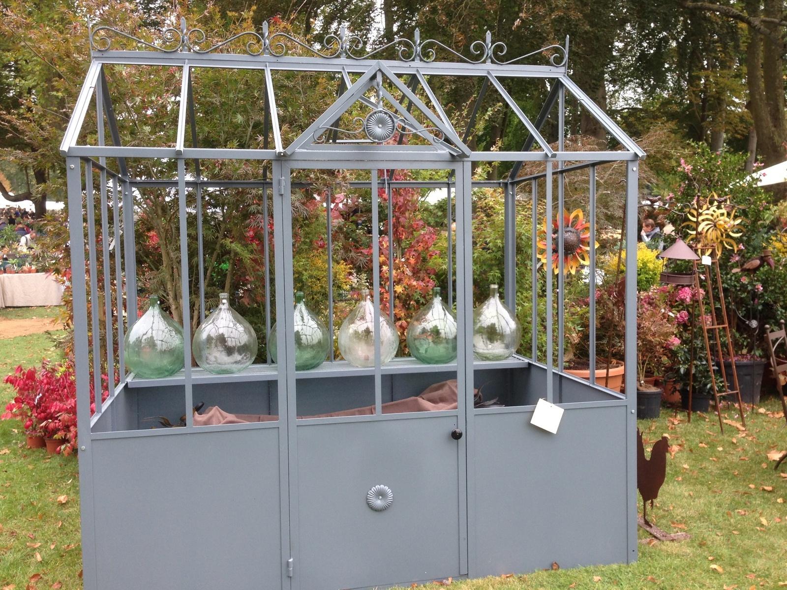 Une Serre Pour Les Semis Du Seeds Of Love - Jardins Merveilleux à Serre De Jardin D Occasion