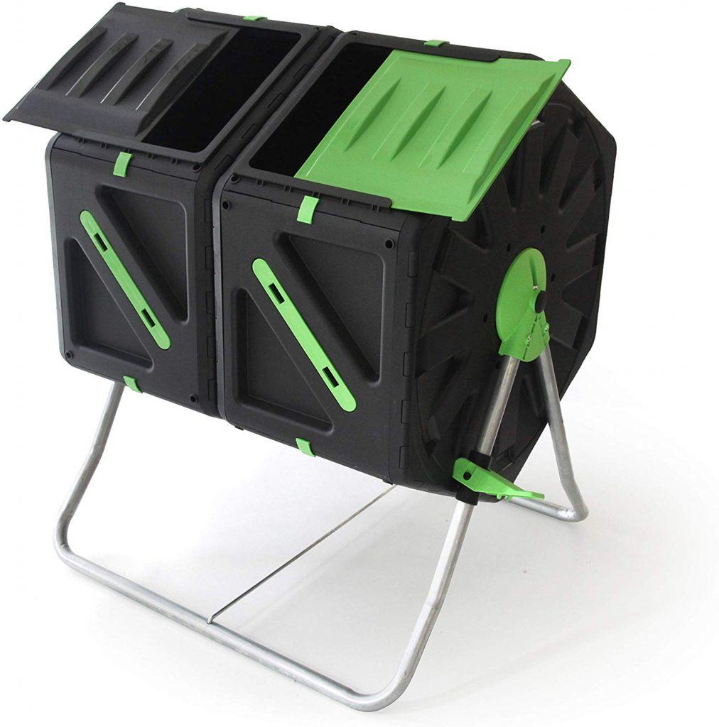 Upp Tonneau Composteur Rotatif Avis Et Test : Un Bon Choix ? encequiconcerne Composteur De Jardin